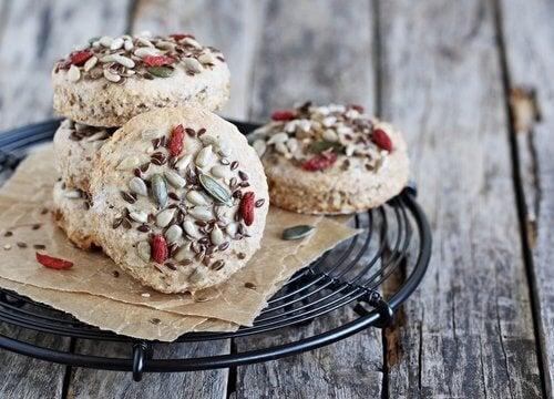 Biscoitos saudáveis
