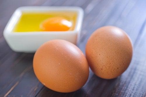 Máscara de ovos para clarear a pele
