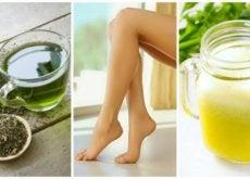 Alivie as pernas inflamadas com estes 6 remédios naturais