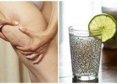 Bebida medicinal de linhaça para combater a celulite e melhorar a saúde da pele