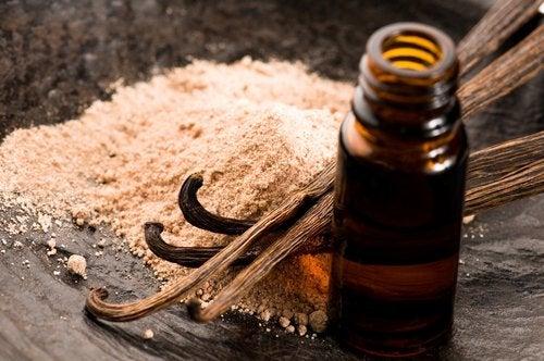Extrato de baunilha para aliviar a inflamação nas gengivas
