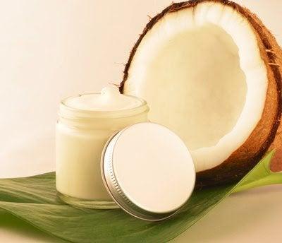 Creme natural à base de coco