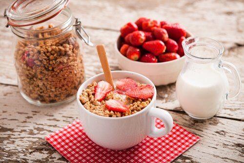 Café da manhã para ter um abdômen plano
