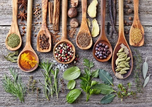 Especiarias para evitar as alergias sazonais
