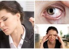 Você sofre de estresse visual? Descubra-o identificando estes 8 sintomas