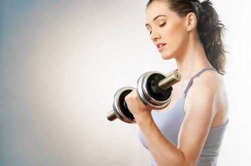 Flexão para fortalecer os braços