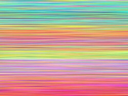 Mente pensando em cores