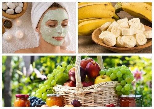 6 máscaras faciais de frutas para um rosto mais suave