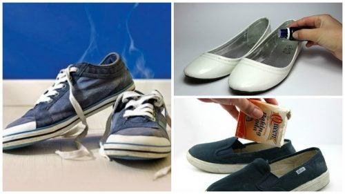 Dê adeus aos maus odores dos sapatos com estes 6 truques caseiros