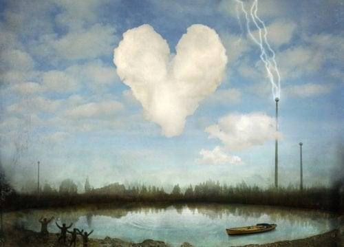 Coração que representa o amor