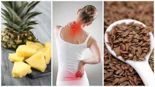 Reduza a dor e a inflamação incluindo estes 7 alimentos em sua dieta
