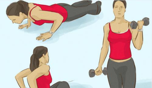 Exercícios para acabar com a gordurinha acumulada nas axilas