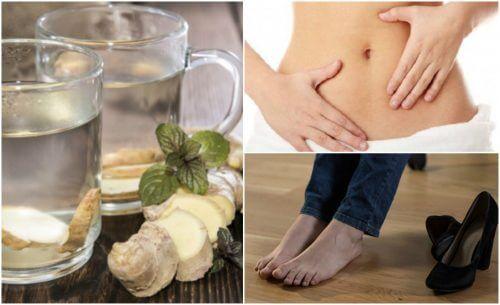 7 benefícios de consumir água de gengibre com o estômago vazio