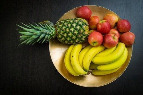 Comer frutas após as refeições não é recomendado
