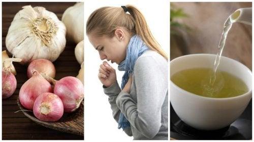 Combata a tosse com esta bebida natural de cebola e alho