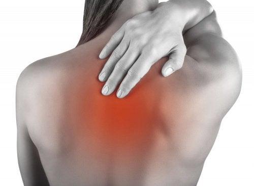 Dor nos músculos das costas