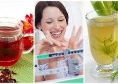6 infusões naturais para perder peso com mais facilidade