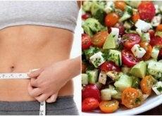 Prove esta deliciosa salada para desinchar o abdômen e perder peso