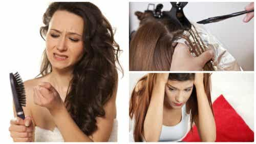 7 possíveis causas para a queda de cabelo excessiva