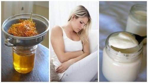 Alivie os sintomas da vaginose bacteriana com estes 6 remédios naturais