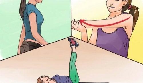 Aumente a flexibilidade dos músculos