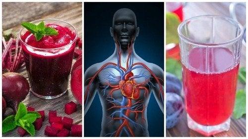 5 bebidas naturais que ajudam a melhorar a circulação sanguínea