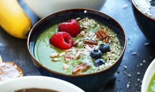 Café da manhã saudável para reduzir triglicerídeos
