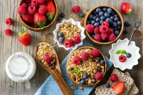 Alimentação saudável para prevenir dor muscular
