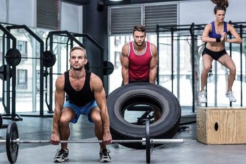 Levantar peso para ganhar força