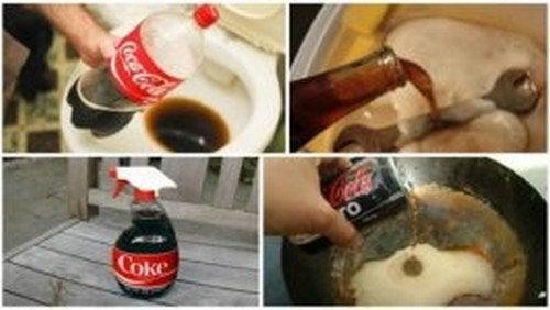 Coca-Cola: 8 usos domésticos que você vai gostar de conhecer