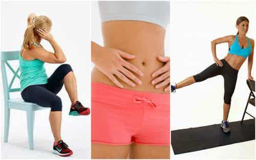 Use uma cadeira para reduzir a gordura abdominal
