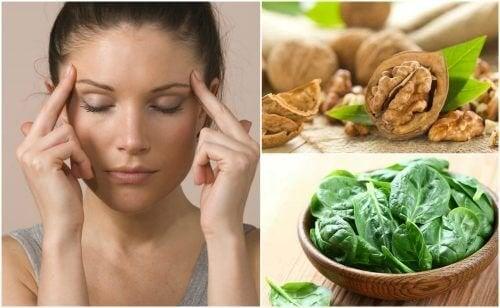 7 alimentos que ajudam a melhorar as funções cerebrais