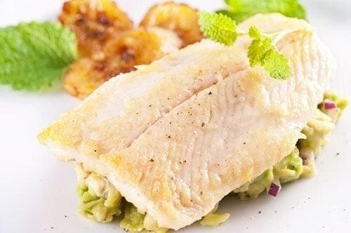 Tipos de peixe: branco