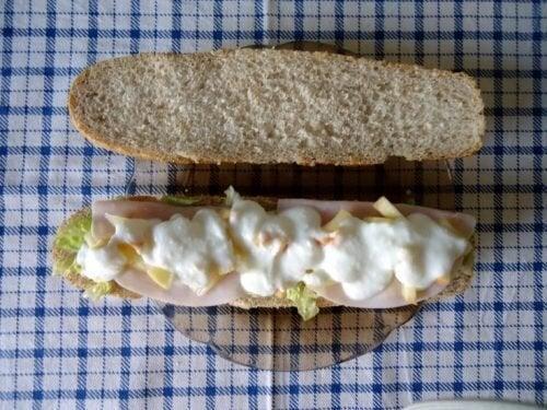 Sandwiche para o Café da manhã