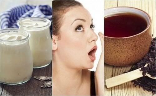 Mau hálito: 7 remédios para combatê-lo naturalmente