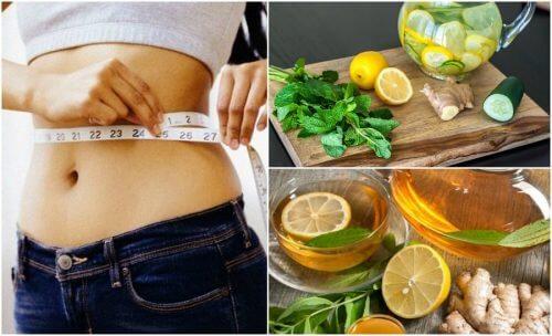 Combata a inflamação e perca peso com gengibre e limão