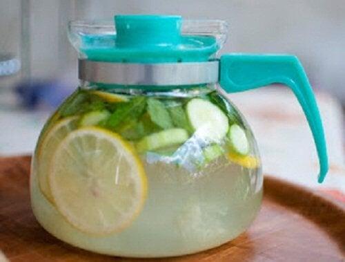 Gengibre e limão para perder peso