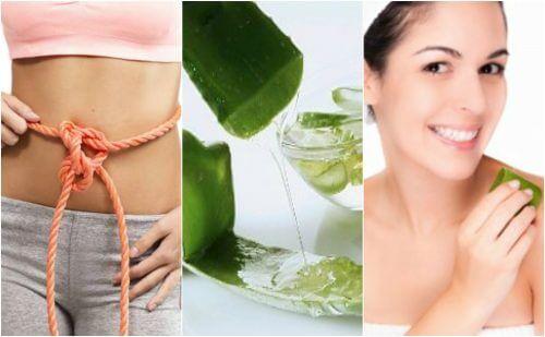 9 benefícios medicinais que você pode obter graças ao gel da aloe vera