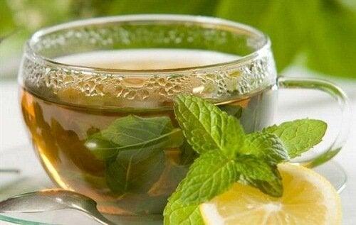 Chá de hortelã para acelerar o metabolismo