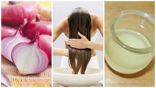 Como combater a queda de cabelo com remédios à base de cebola