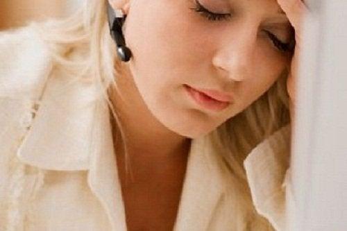 Esgotamento pode ser sinal de má circulação