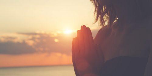 """""""Namastê"""" e meditação"""
