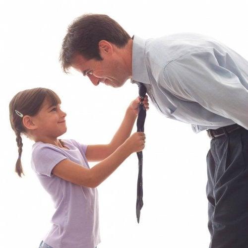 Pai e filha confidentes