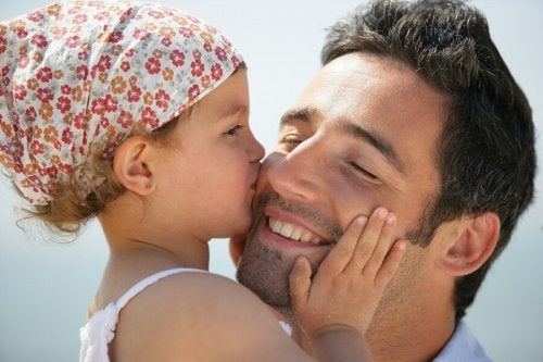 Pai e filha unidos
