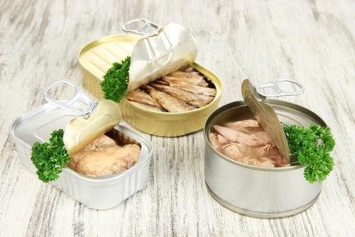 Atum ao natural restará 500 calorias