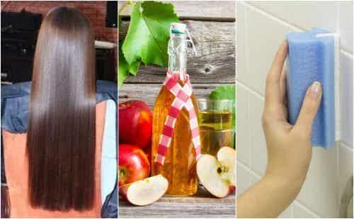 5 curiosos usos do vinagre de maçã