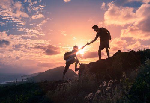 Construir a resiliência dá coragem