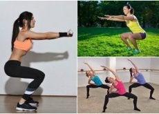 6 tipos de agachamentos para trabalhar as pernas em casa