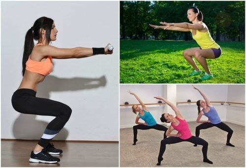 6 tipos de agachamentos para trabalhar as pernas
