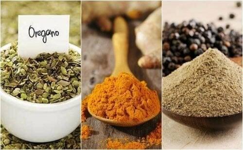 8 especiarias para substituir o sal